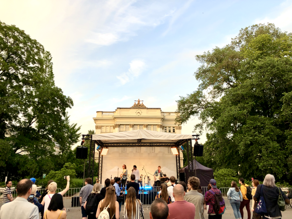 Konzert am Universitätsplatz